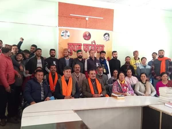 राजगढ़ क्षेत्र को मिली अपनी सार्वजनिक लाइब्रेरी :युवा फाउंडेशन