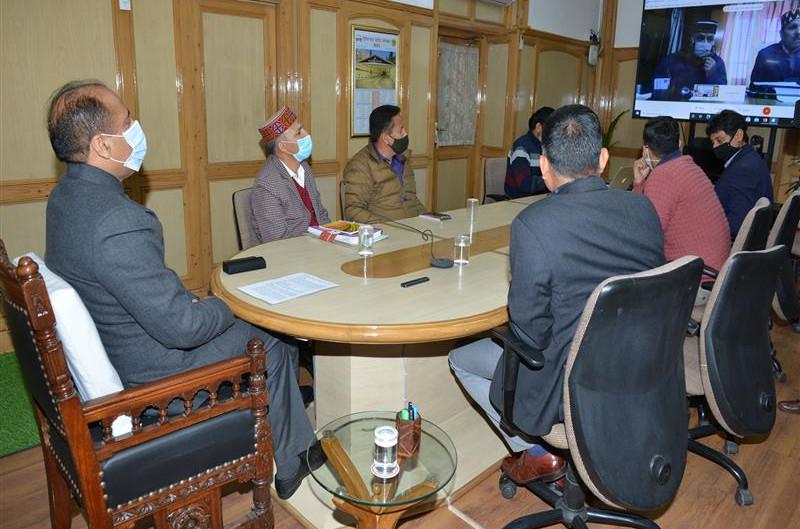 मुख्यमंत्री ने लाहौल-स्पिति के लोगों की सुविधा के लिए चार सेवाओं का शुभारंभ किया