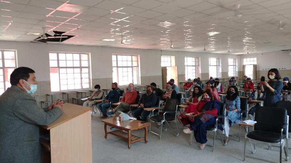 राजकीय महाविद्यालय राजगढ़ में राष्ट्रीय सेवा योजना का विशेष शिविर सम्पन्न