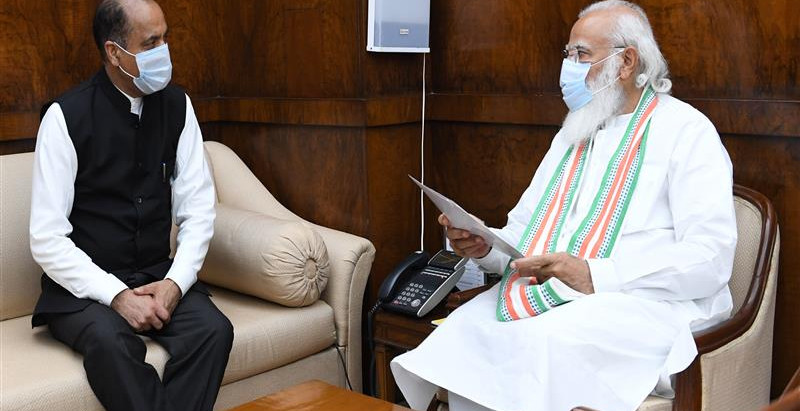 जय राम ठाकुर ने प्रधानमंत्री को रथ यात्रा का उद्घाटन करने के लिए आमंत्रित किया