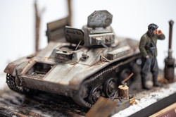 T-60 light tank from Plant No 264