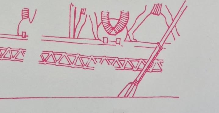 Byblos ship oars