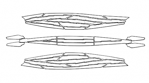 The planks of Khufu's solar boat