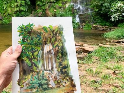 Observar a natureza para criar novos mundos:        a arte de João Fasolino.