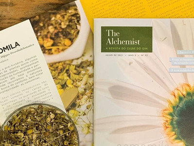 The Alchemist: a revista do Clube do Gin