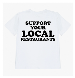 Fashion Brand Morning News Releases Luxury T-Shirt to Support Local Restaurants