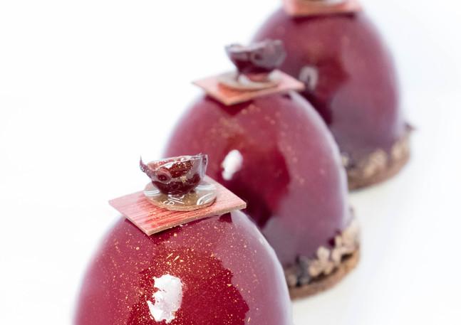 Petits gâteaux Chocolat Griottes