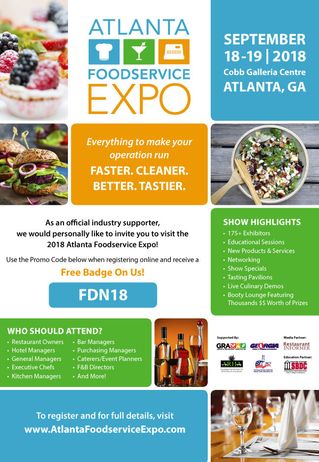 Atlanta Foodservice Expo Food Fair Magazine