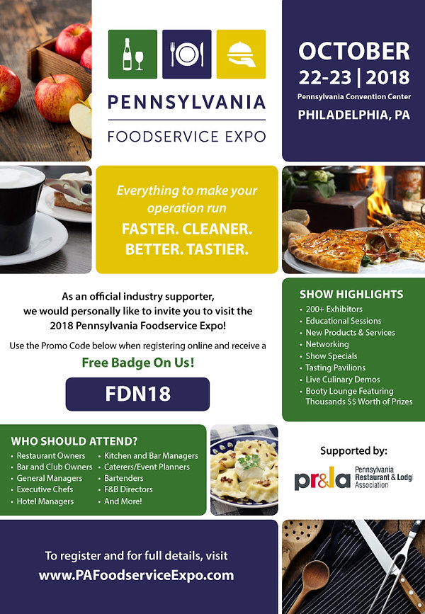 pennsylvania foodservice expo Food Fair Magazine