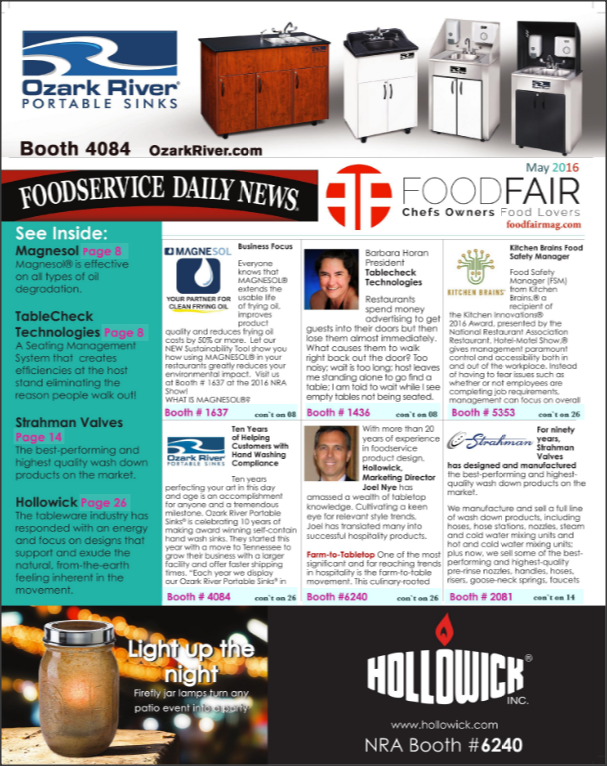 2016 Foodservice DN NRA