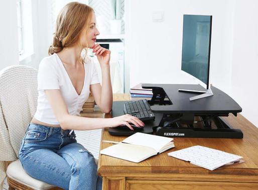 Best Standing Desk Converters for Laptops 2020