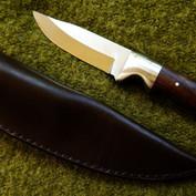 Bushcraft blade and sheath