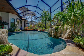 Bluwater Bluewater Pool Spa Water Features fountains water fun floats splash swim sun veranda lanai lounge firepit fire bowls scuppers slash downs therapy jets returns  infloor cleaning coastal driveway patio cage
