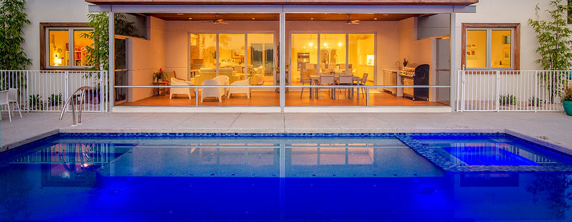 Bluwater Bluewater Pool Spa Water Features fountains water fun floats splash swim sun veranda lanai lounge firepit fire bowls scuppers slash downs therapy jets returns  infloor cleaning coastal driveway patio cage Brick Pavers