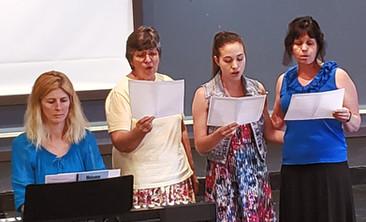 Hannah, Judy, Sarah & Julie