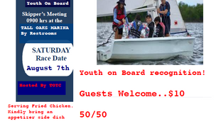 Youth on Board / Fried Chicken Social - Saturday August 7, 2021