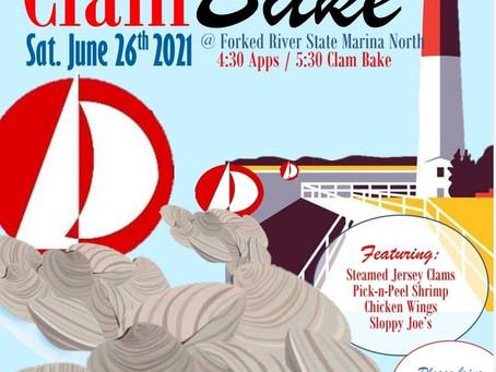 Clam Bake - Saturday June 26, 2021
