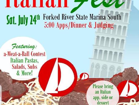 Italian Fest - Saturday July 24, 2021
