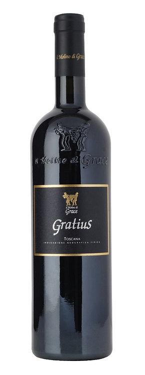 Il Molino di Grace, Toscana Rosso 'Gratius' IGT, 2012