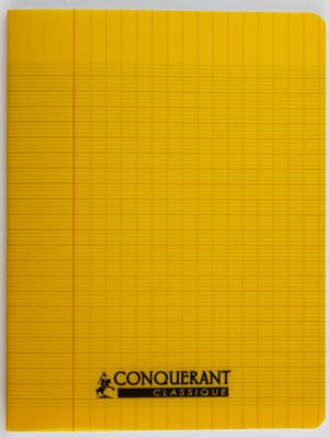 Conquerant Cahier 24 x32 Seyes 192pages Jaune