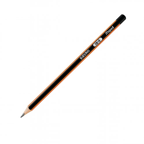 Maped Crayons Graphite Black Peps 2B