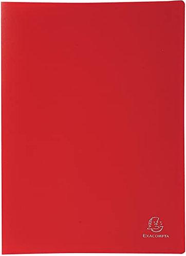 Exacompta Rouge Porte-Vues de 60pochettes