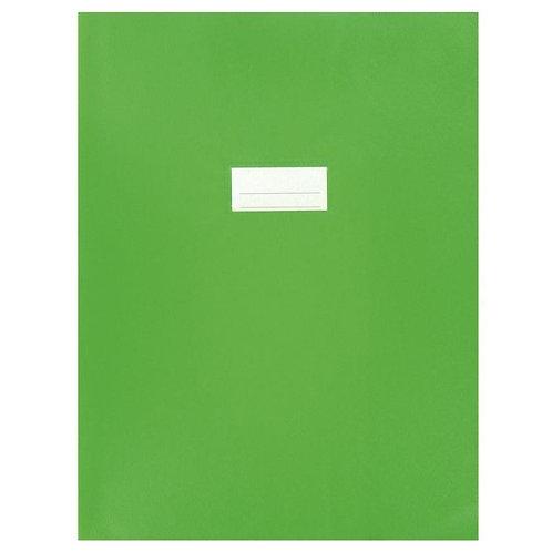 Protège cahier très épais 24x32 vert clair