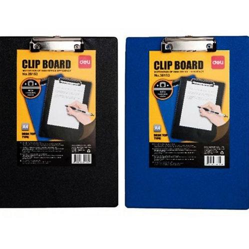 Deli Clip Board Plastic 38154