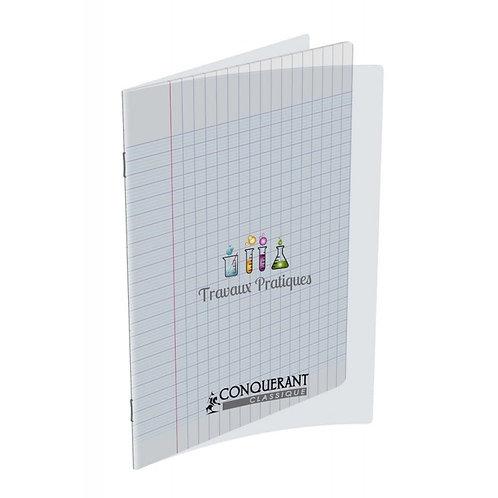 Polypro transparent cahier de 64 pages 17 x 22 - seyes  (TP) 90g