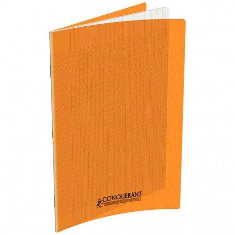 Conquerant Cahier Polypro 24X32 96P 90g Seyes Orange