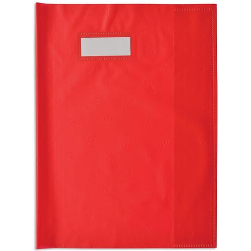 Elba Protège Cahier A4 Rouge