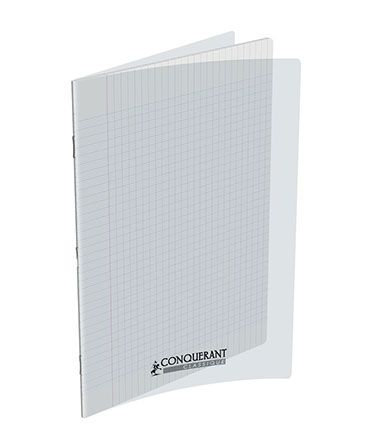 Conquerant Cahier 24 x32 Seyes 192pages Transparent