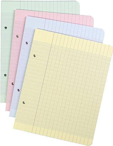 Paquet de 80 pages perforés mobiles - Seyes - Bleu A4 (100pages, 80g)