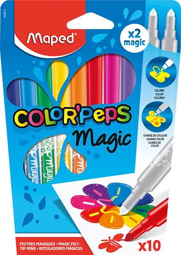 Maped Feutres Magiques Color peps x 10