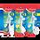 Thumbnail: Maped Ciseau 16cms Rond Reflex 3D Gaucher Blister