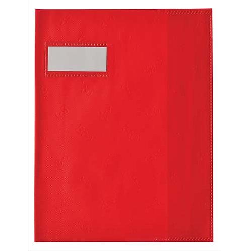 Elba Protège Cahier 17x22 Rouge