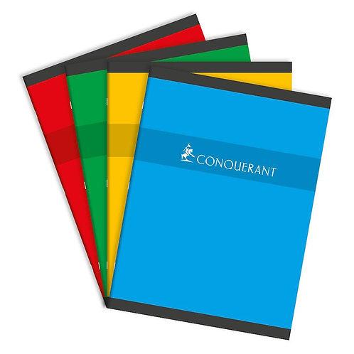 Cahier 24 x 32 Conquerant 96 pages 70gms Grands Carreaux (Seyes)