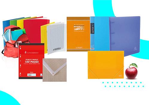 Le Pack Cahiers et Classeur 4ème
