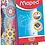 Thumbnail: Maped Trousses tube durables Mosaic