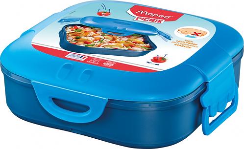 MAPED CONCEPT KIDS FIGURATIVE LUNCH BOX 1 COMPARTMENT BLUE