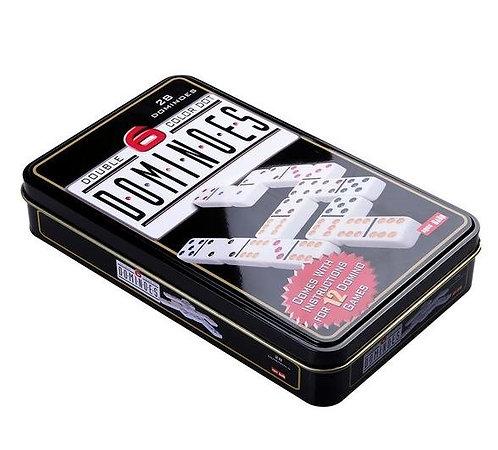 Domino in Tin Box