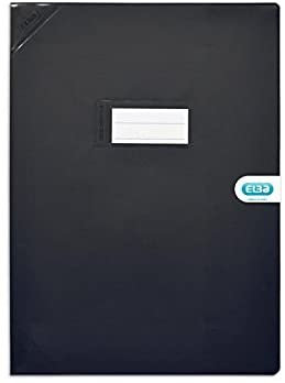 Elba Protège Cahier 24x32 Noir
