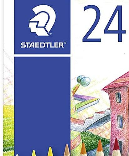 Staedtler Crayons de couleurs x 24