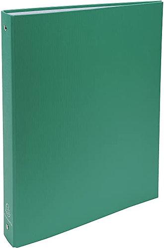 Exacompta Classeur vert rigide 4 anneaux dos 40 mm