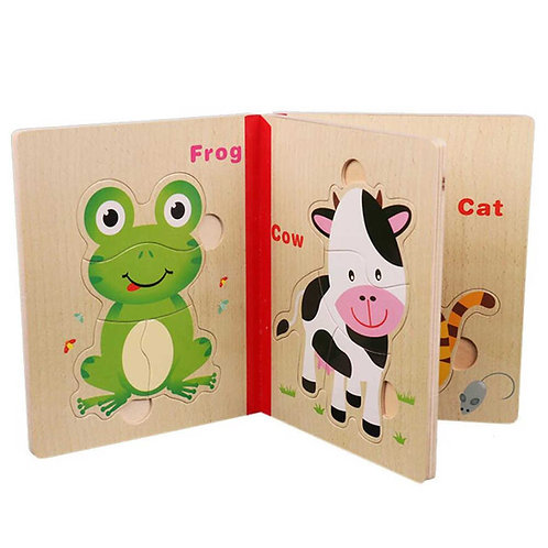 Toy Puzzle book
