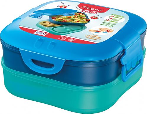 MAPED CONCEPT KIDS FIGURATIVE LUNCH BOX 3-IN-1 BLUE