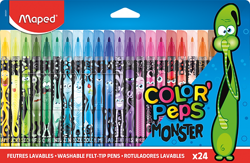 Maped Feutres Color Peps Monster x24