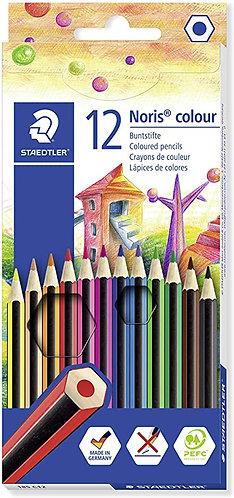 Staedtler - Boîte de crayons de 12 couleurs