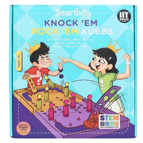 Smartivity Knockem Rockem Kubbs
