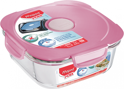 Maped - Concept Adult Glass Lunch Box